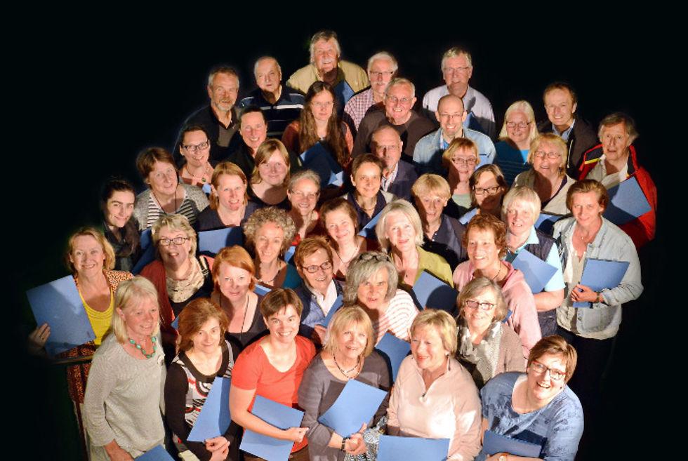 """Chor Open Air mit Vox Humana: """"Im Freien zu singen"""""""