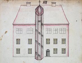 Der gräfliche Stammsitz Schloss Agathenburg bis 1740