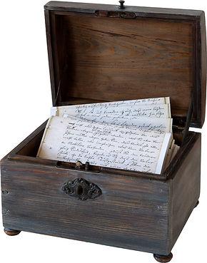 In Schriftstücken der Königsmarcks schmökern - wer kann die Handschriften lesen? Ein Abenteuer für Groß und Klein!