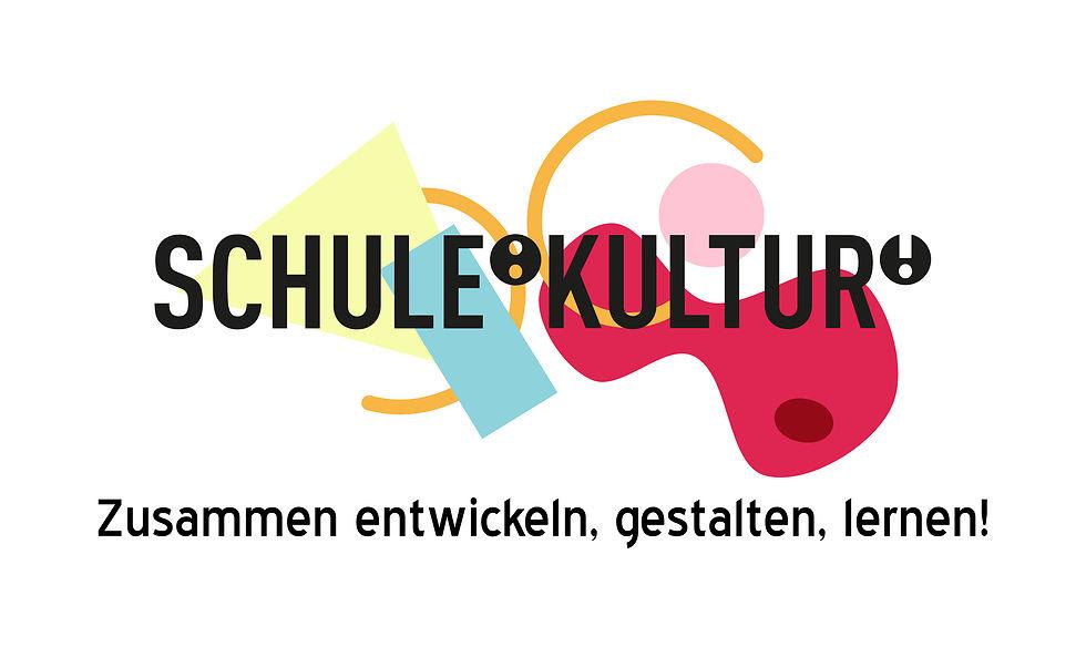 Logo: SCHULE:KULTUR! Zusammen entwickeln, gestalten, lernen!