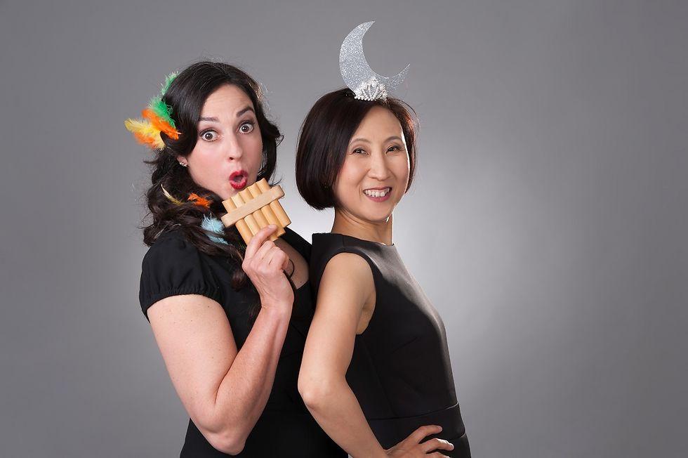 Sopranistin Franziska Dannheim und Pianistin Jeong-Min Kim als Papageno und